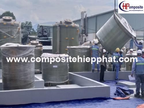 Bồn Composite FRP Xử Lý Nước Thải