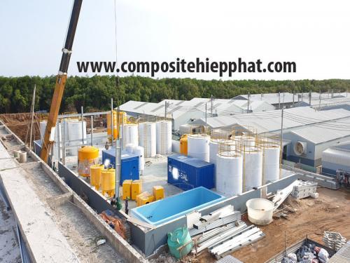 Bồn chứa hóa chất FRP