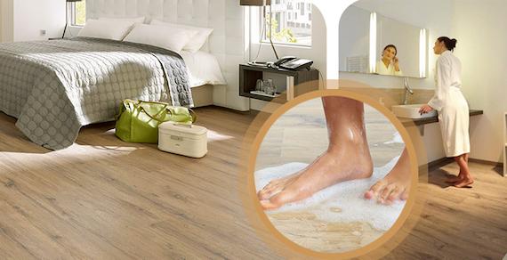 Sàn gỗ Egger chịu nước Aqua+