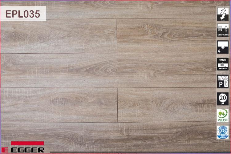 Sàn gỗ Egger Pro 8mm EPL035