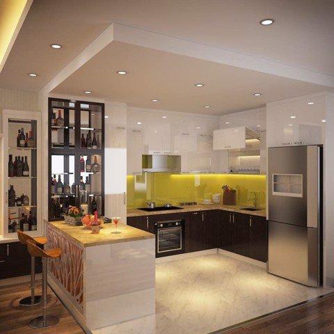 Tủ bếp cao cấp TBC005