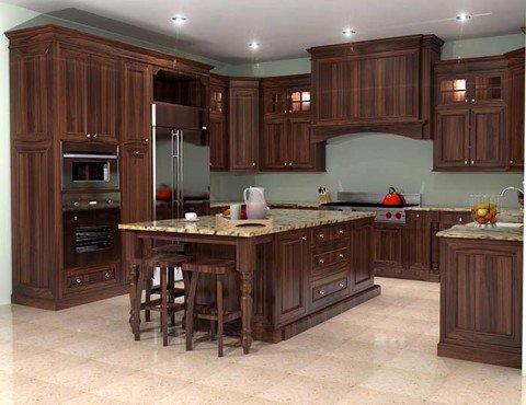 Tủ bếp cao cấp TBC001
