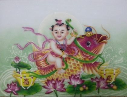 Tranh Đá Quý Phong Thủy
