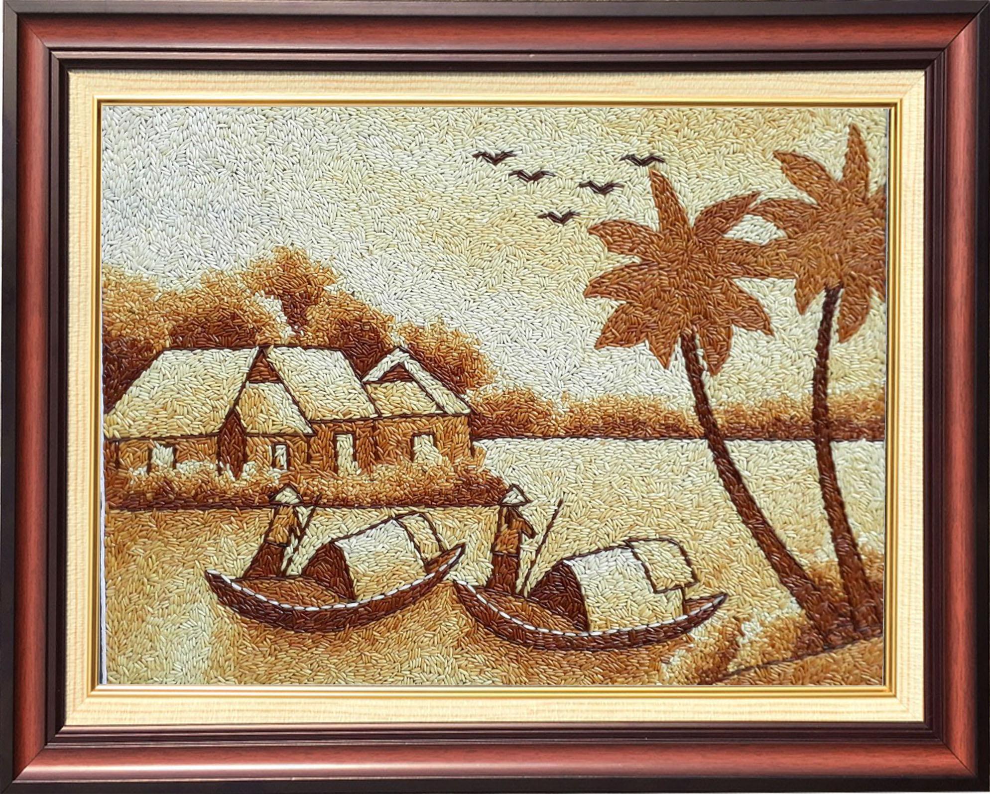Tranh gạo nghệ thuật