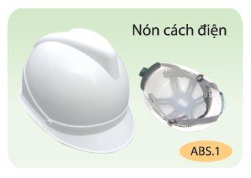 Nón BB Cách điện- Nhựa ABS