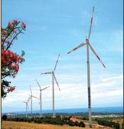 Kiểm tra quạt điện gió bằng flycam