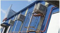 Hệ thống đường ống gió Công Ty Dệt Phú Thọ