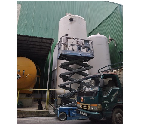 Sửa chữa bồn chứa khí lỏng