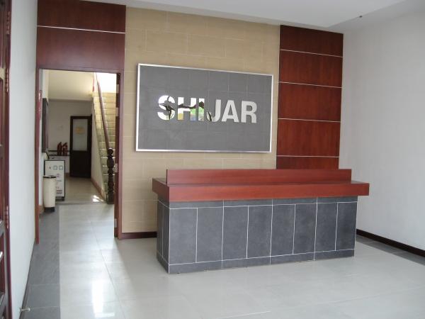 Quầy tiếp tân - Công ty Shijar
