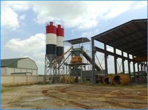 Trạm trộn bê tông 4MSO2250T concrete mixer