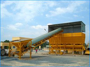Hệ thống băng tải nạp cát đá