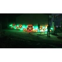 Trang trí đường phố bằng đèn Led