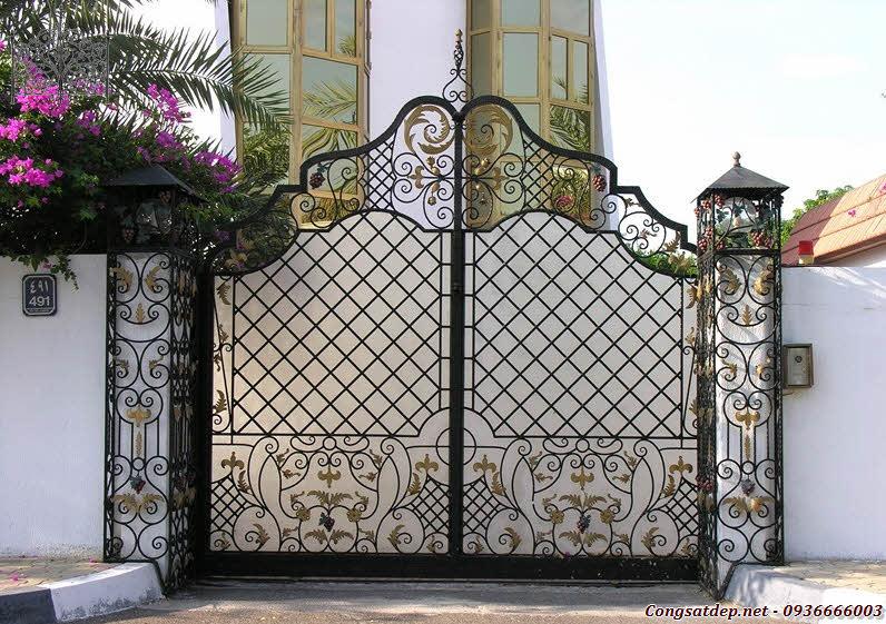Thi công lắp đặt cửa cổng