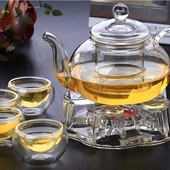 Bộ ấm trà thuỷ tinh