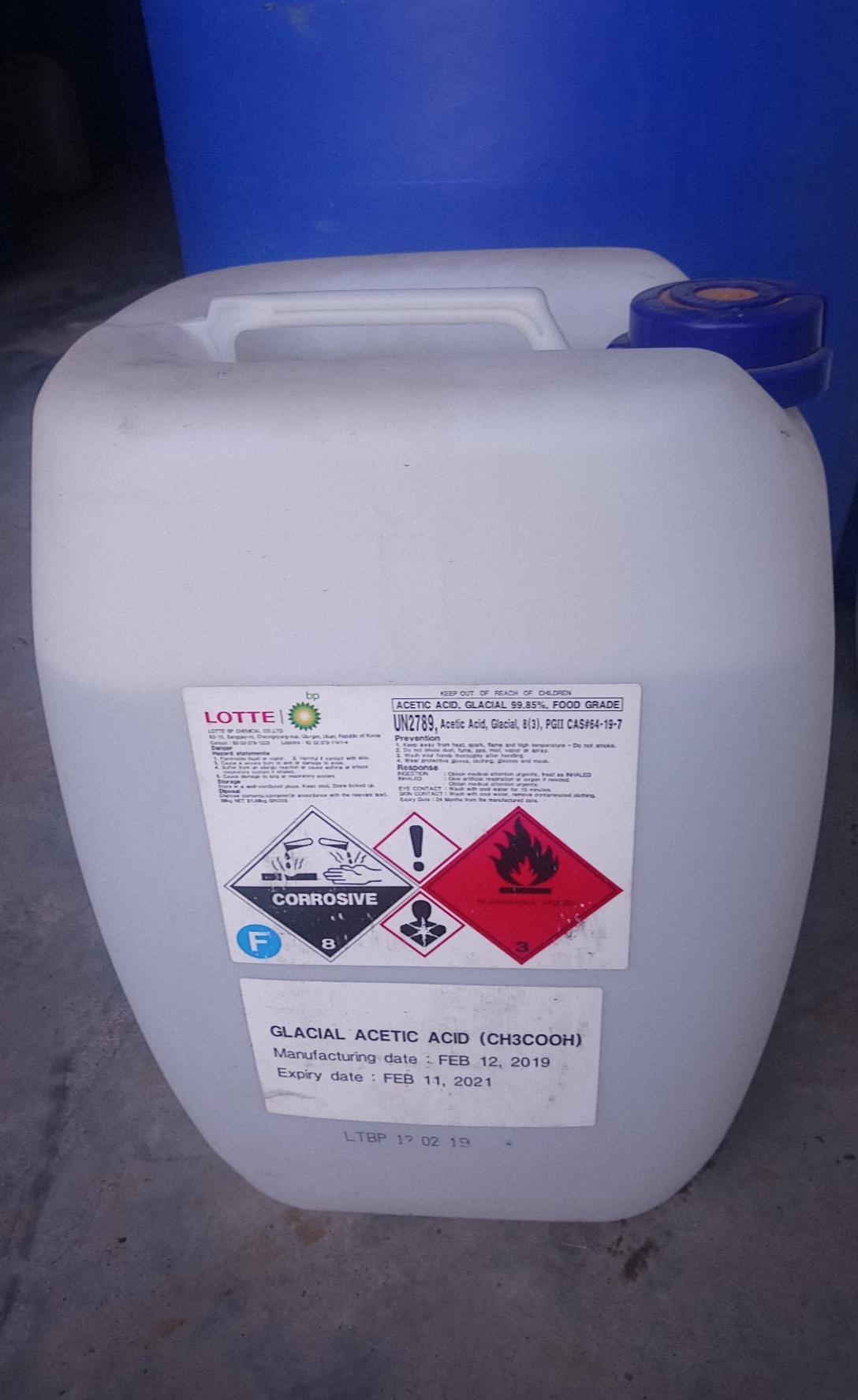 Acid Acetic - CH3COOH