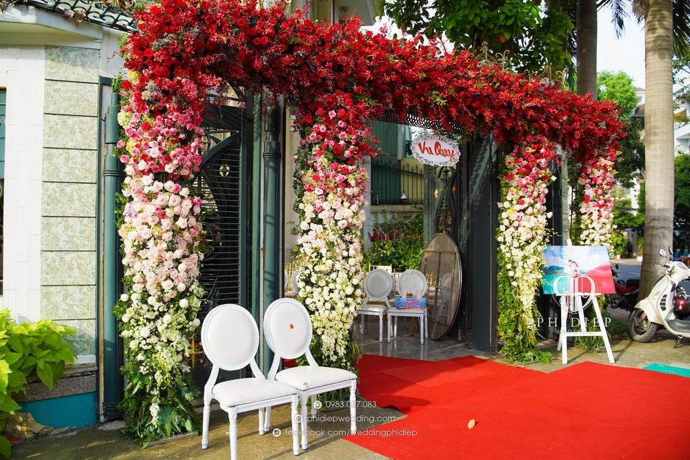 Cho thuê cổng hoa cưới đẹp
