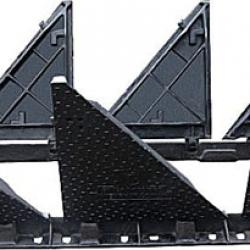 Nắp bể cáp 6 cánh gang cầu