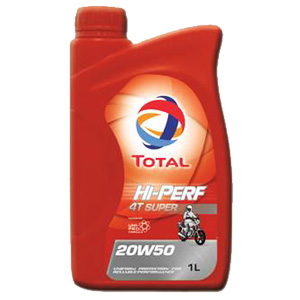 TOTAL Hi-Perf 4T Super 20W50