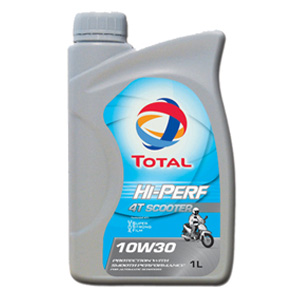 TOTAL Hi-Perf 4T Scooter 10W30