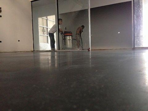 Thi công sàn bê tông