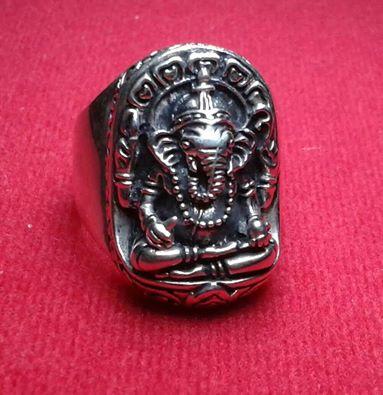 Nhẫn nam bạc Thái