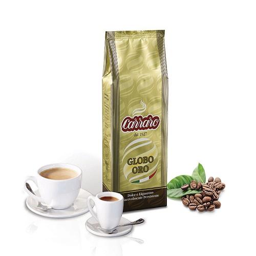 Cà phê hạt Carraro Globo Oro