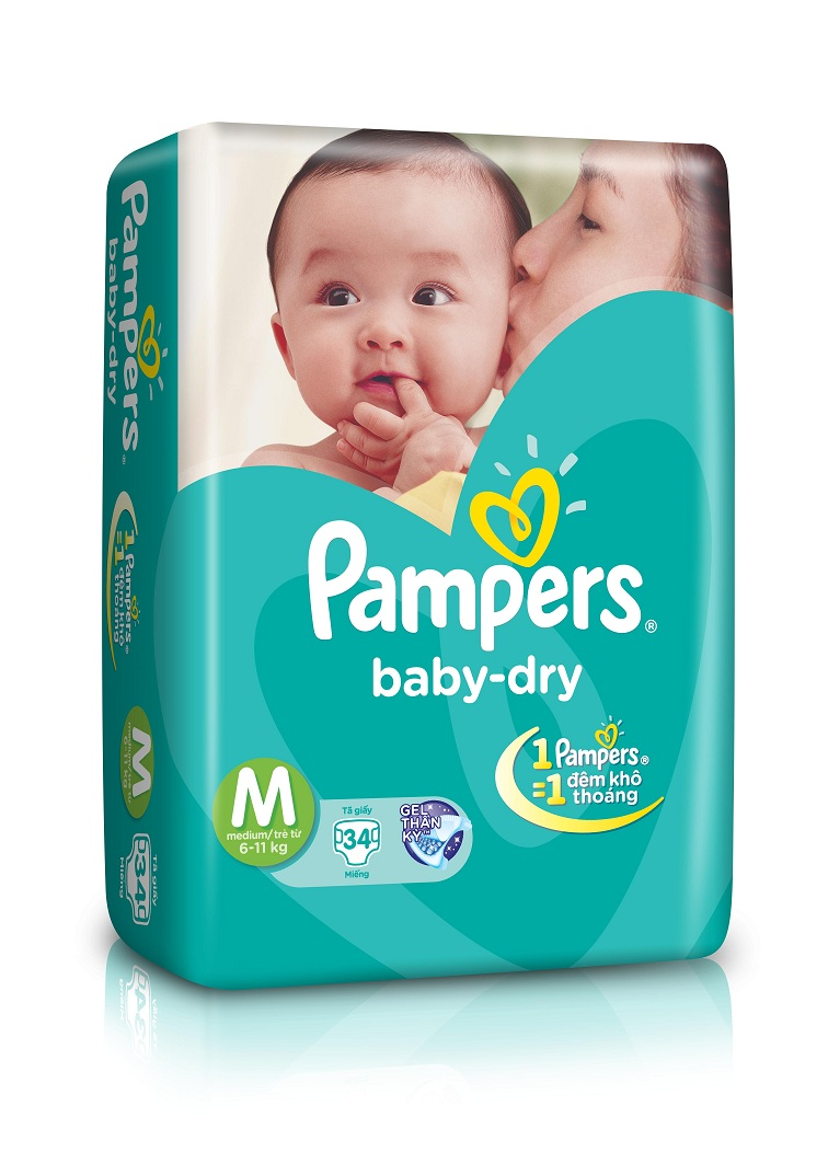 Bỉm dán Pampers