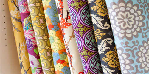 Vải in hoa