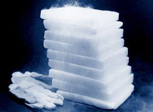 Đá khô dạng khối dùng để bảo quản trong Y học