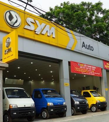Đại lý 3S của hãng ô tô SYM