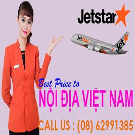 Đại lý vé máy bay Jetstar Pacific
