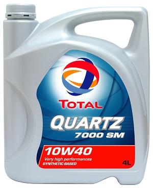 Dầu nhớt động cơ ô tô Total Quartz
