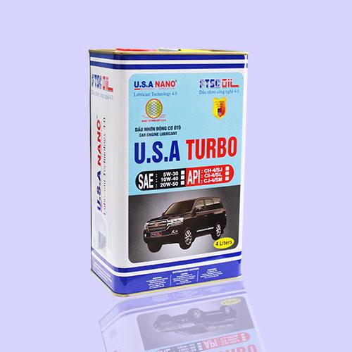 Dầu U.S.A TURBO 4L