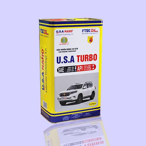 Dầu U.S.A TURBO 5L
