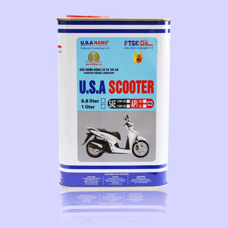 Dầu U.S.A SCOOTER 0.8L
