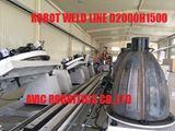 Dây chuyền hàn robot tự động