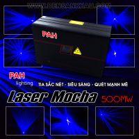 Đèn laser màn Mocha Blue