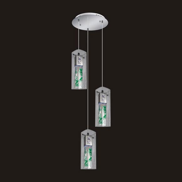 Đèn thả pha lê LED