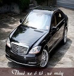 Dịch vụ cho thuê xe ô tô, xe máy