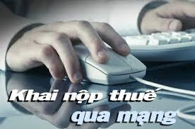 Dịch vụ khai thuế qua mạng