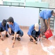 Dịch vụ rửa sàn