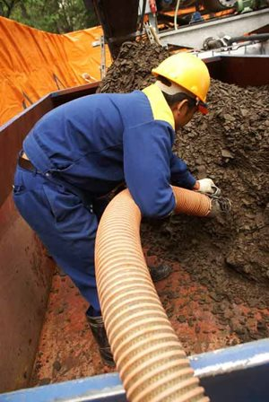 Dịch vụ thoát nước và vệ sinh môi trường