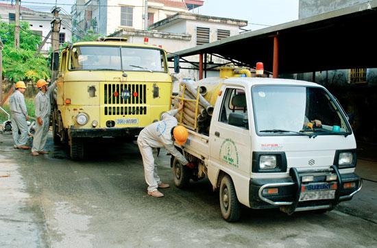 Dịch vụ thông cống , thông tắc bể phốt Hà Nội