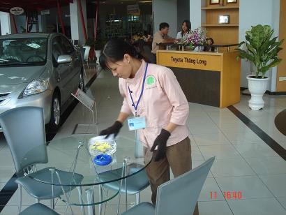 Dịch vụ vệ sinh bảo trì hàng ngày