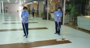 Dịch vụ vệ sinh, đánh bóng sàn