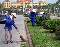 Dịch vụ vệ sinh môi trường