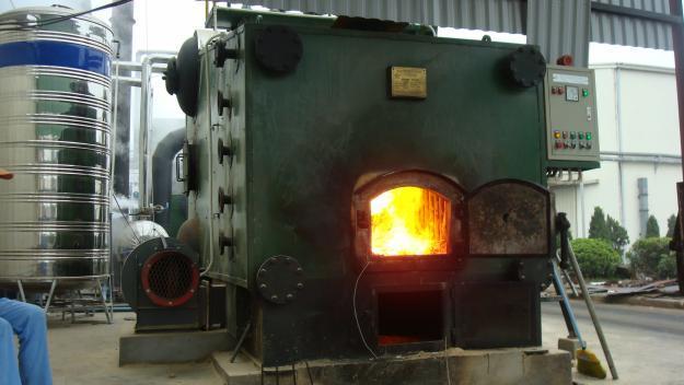 Nồi hơi đốt than