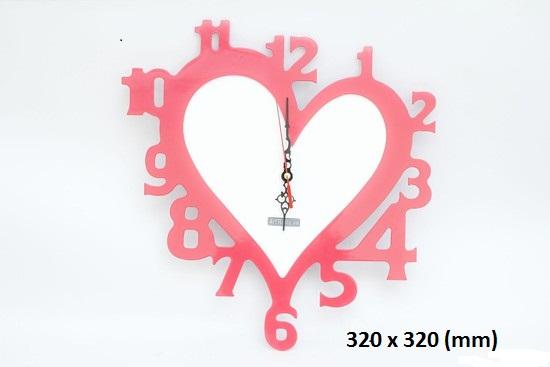 Đồng hồ nghệ thuật cắt CNC mẫu HD003