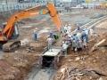 Dự án san nền và xây tường chắn