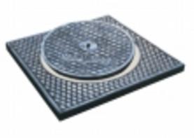 Đúc nắp hố ga (Cast manhole cover)